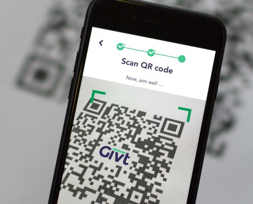 What makes Givt's QR codes so suitable for remote church services